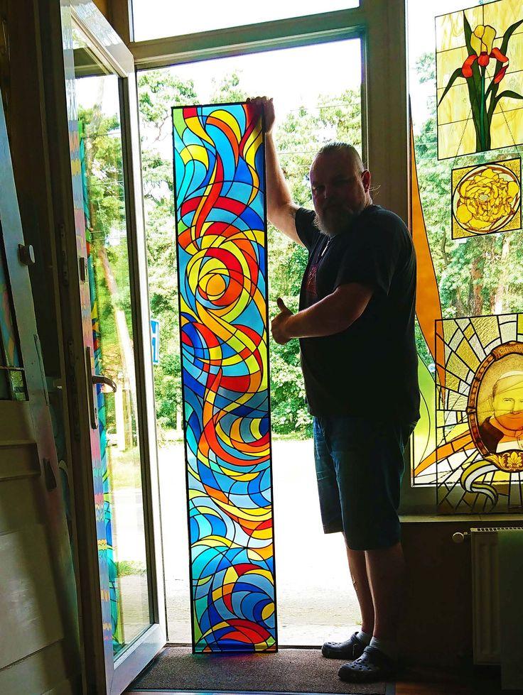 #glassatelier , #overlay , #pracownia , #witraże , #handmade , #art , #glass , #stainedglass , vitrail , #abstrakcja