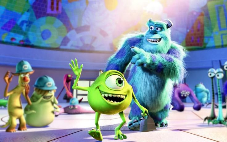 Best Comedy Movies for Kids - Monsters Inc.