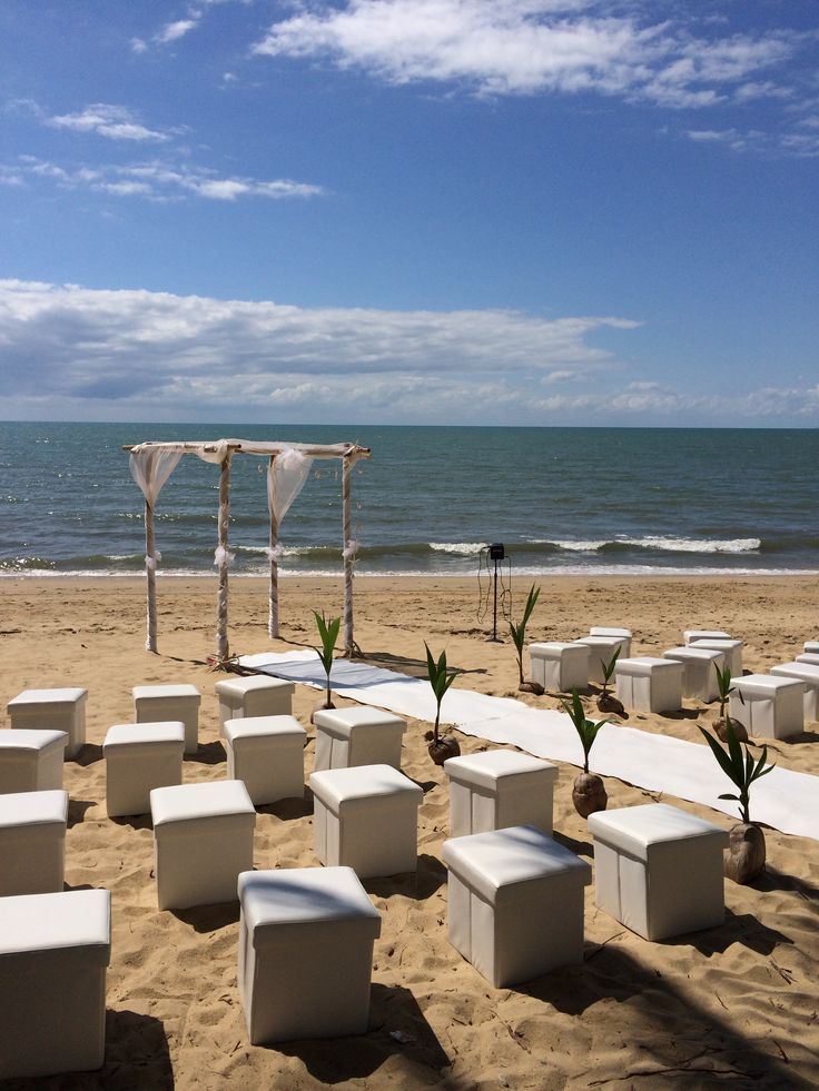 Palm Cove Beach Ceremony, brought to you by Cairns Wedding Planner