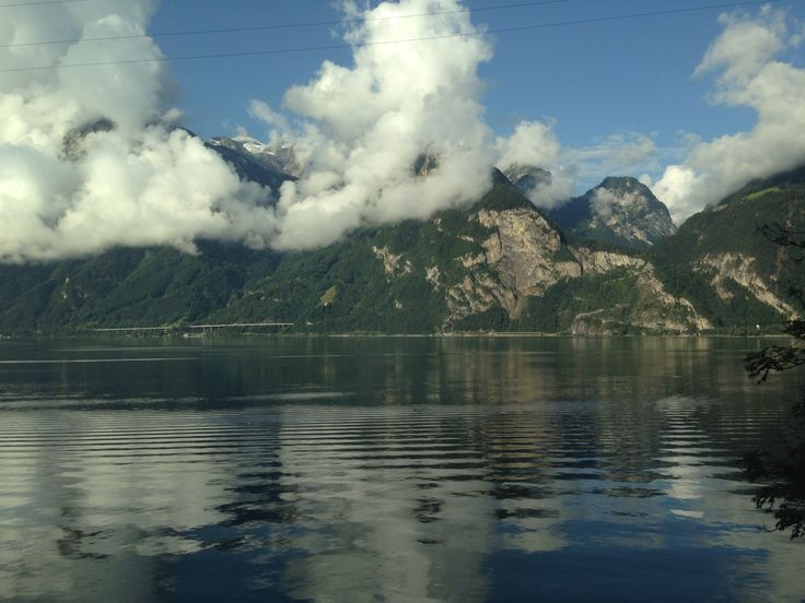 From train just before Brunnen