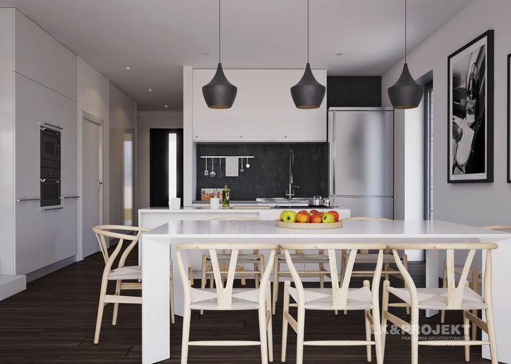 LK&1286 - projekt kuchni - kitchen project #lkprojekt #project #houseproject #house #modern #architecture #polisharchitecture #homesweethome #domjednorodzinny #singlefamilyhouse #interior #build #dreamhome #dreamhouse #kitchen #lovelykitchen