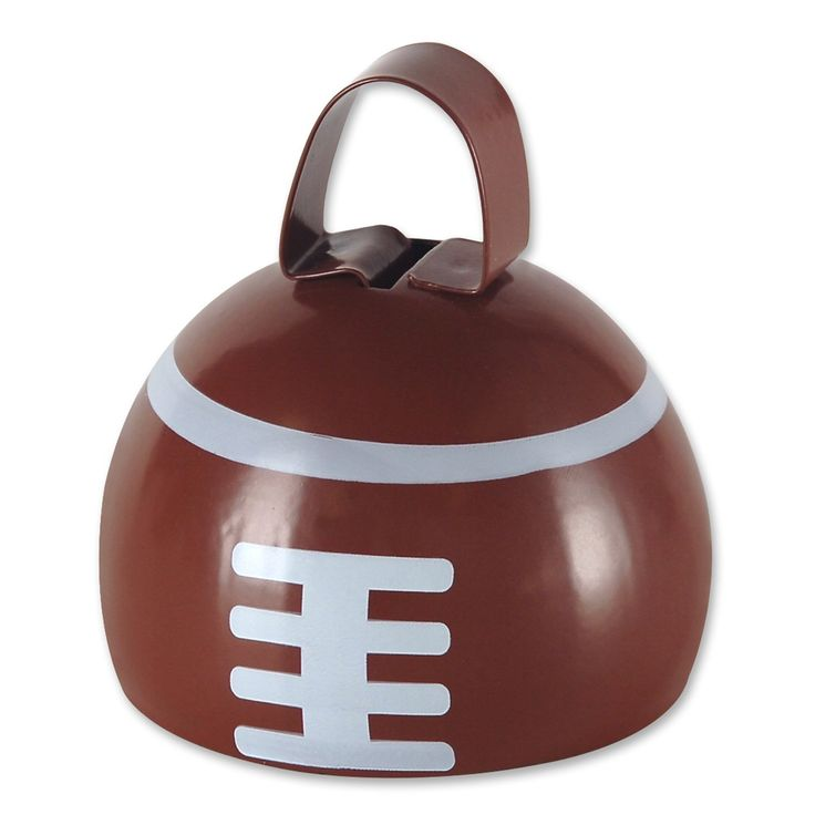 Football Cowbell (12ct)