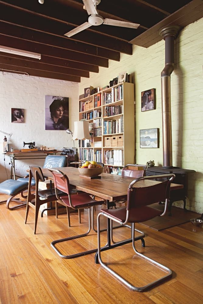 Name: Ben and Heidi Yardley and their cat, Nico Location: North Melbourne; Victoria, Australia Size: 2500 square feet Years lived in: 5 years; Rented Heidi and Ben's home is located down a quaint cobblestone lane that's slightly overgrown with trees and shrubs. As you enter through the gate, it's like stepping back in time or traveling to Europe. Many homes in the area have undergone extensive renovation, but luckily for Heidi and Ben, their house has only received minor restoration and a…