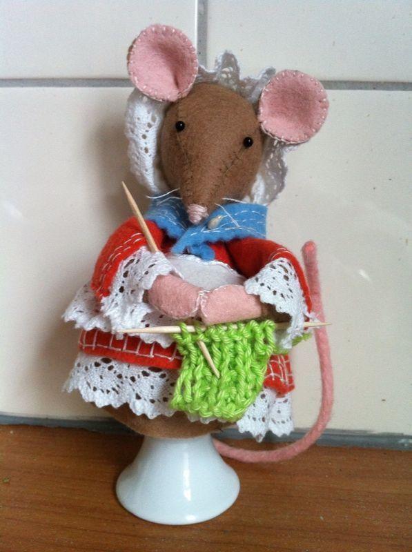 Eierwarmer Beatrix Potter gemaakt