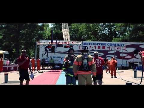Firefighter Combat Challenge 2015 - Mississippi - YouTube