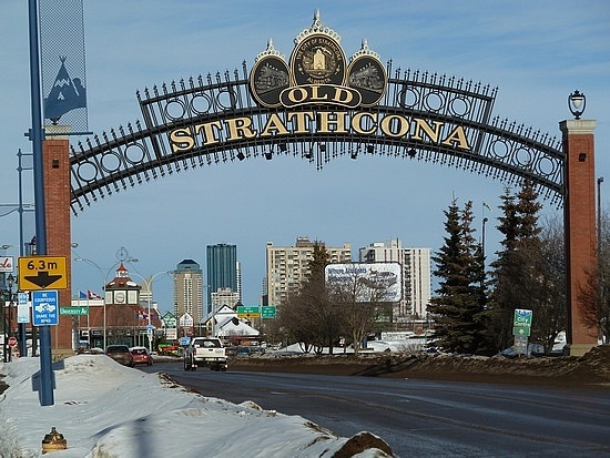 Old Strathcona - Home to Whyte Ave and loads of independent shops (including us!)