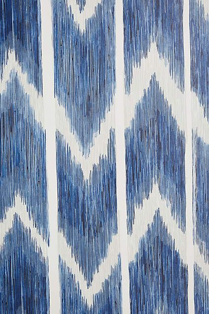 Textured Ikat Wallpaper - anthropologie.com
