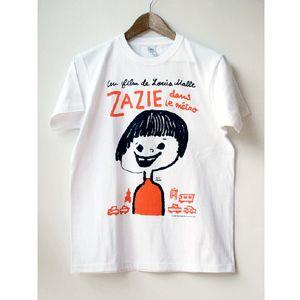 『地下鉄のザジ』Tシャツ男性Lサイズ - 100%ORANGE WEB SHOP