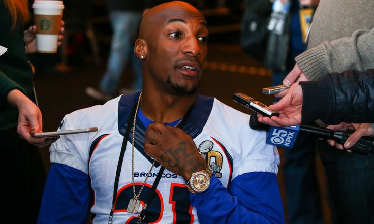 Broncos CB Aqib Talib could be suspended for facemask = Broncos cornerback Aqib Talib started to lose his cool in the middle of the Super Bowl, accumulating a number of penalties, including one for a blatant facemask tackle of Panthers' wideout Corey Brown. Now, the NFL is considering.....