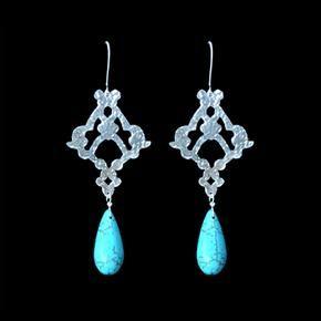 Anna Raimondo- Silver with turquoises stone - ARTISAN GALLERY 344 Florida Road, Durban 4001 SA +27 31312 4364