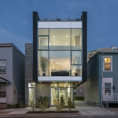 Live_Work_Grow House is a minimalist house located in Halifax, Canada, designed by Susan Fitzgerald Architecture. (17)