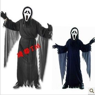 COS Halloween costumes for adult men& kids,Black Devil horror scream costume,Zombie Devil clothing / Gothic vampire  Price: 35.99 & FREE Shipping  #sale #discount #shop #2018
