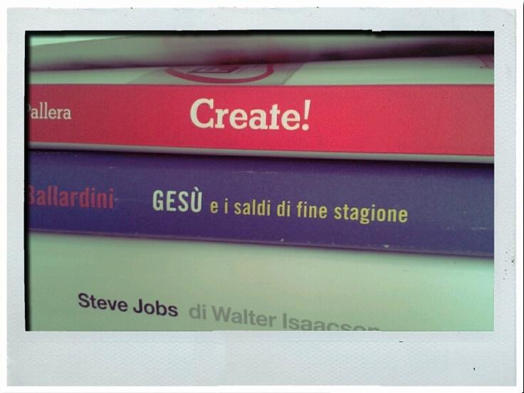 Create!  Gesù e i saldi di fine stagione  Steve Jobs