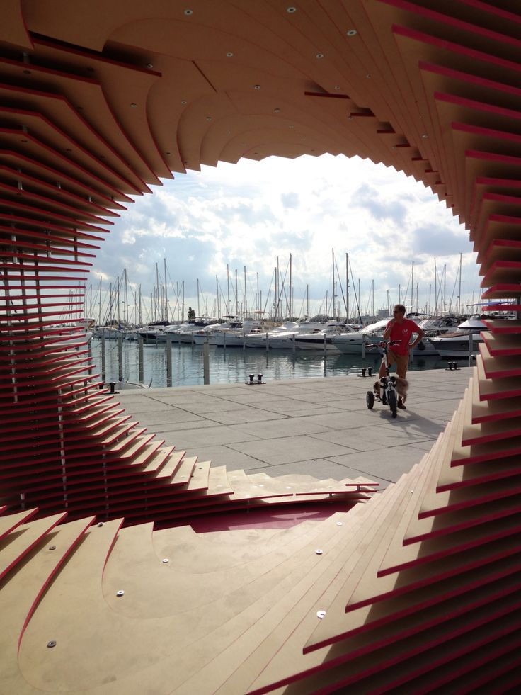 The PortHole: Anamorphic pavilion for the Living Architecture Festival by TOMA Architects   Tododesign _ Design, architecture & lifestyle