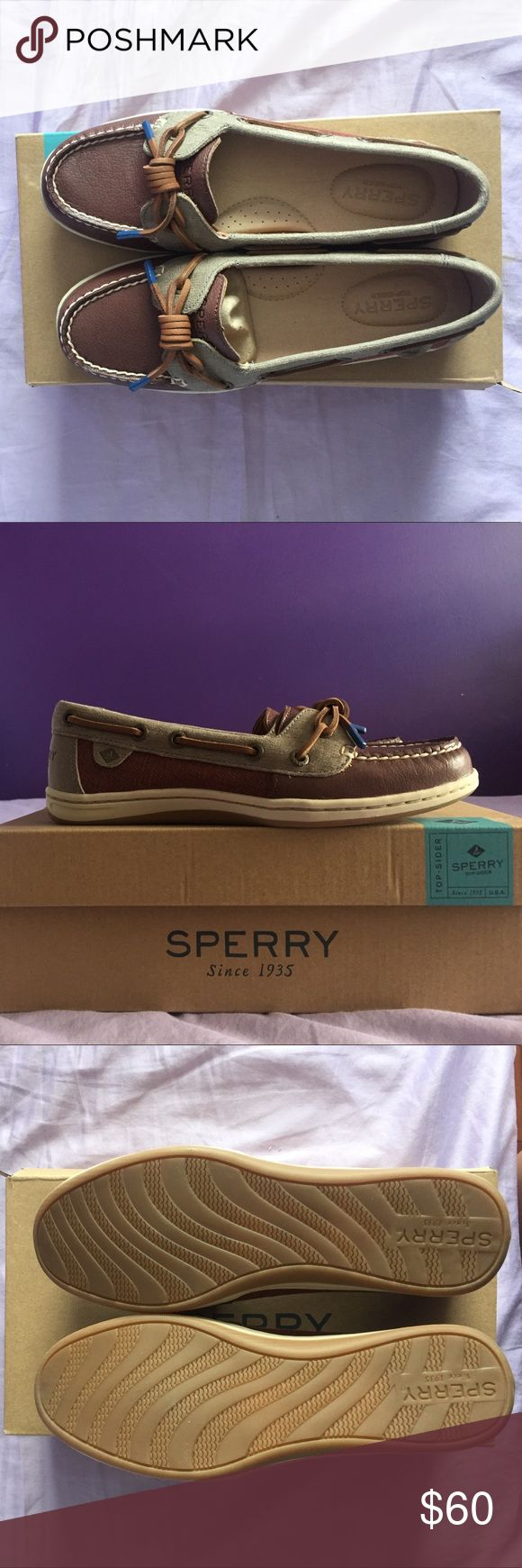 Unworn Barrelfish Rust Sperry Boat Shoes Size 6 Completely new and unworn women size 6 Barrelfish Rust Sperry Boat shoes. Fits true to size. Will come with the box. Sperry Top-Sider Shoes Flats & Loafers