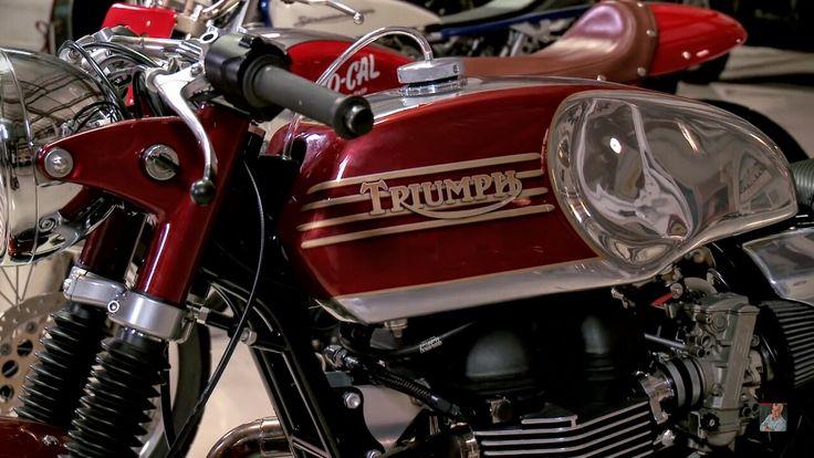 Champions Moto - Triumph cafe