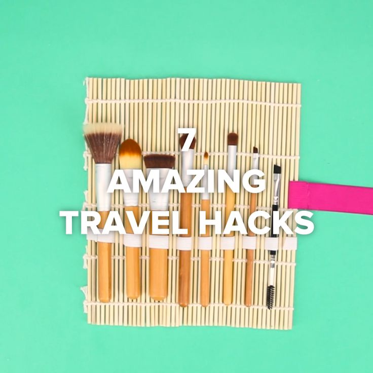 7 Amazing Travel Hacks #DIY #space #travel #pack