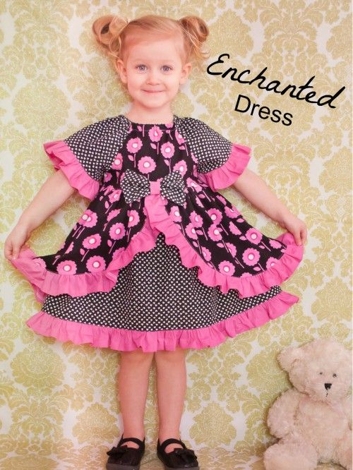 Enchanted dress sewing pattern whimsy couture g