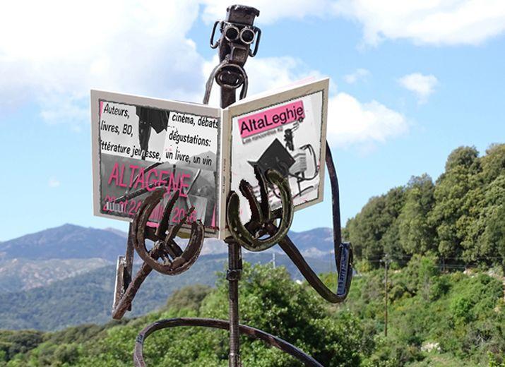 """AltaLeghje - 23 et 24 juillet 2016 - Livres, cinéma, bd, jeunesse :   https://www.facebook.com/altaleghje/timeline  """"Help ! Notre festival essaie de boucler son budget, rallier toutes les bonnes volontés. Nous faisons tout pour recevoir dans les meilleurs conditions, au cœur de la Corse, des auteurs venus de tous horizons. Aidez-nous, contribuez et/ou faites passer le message. Des livres à gagner pour tous les donateurs. Merci par avance de votre aide et de votre confiance""""."""