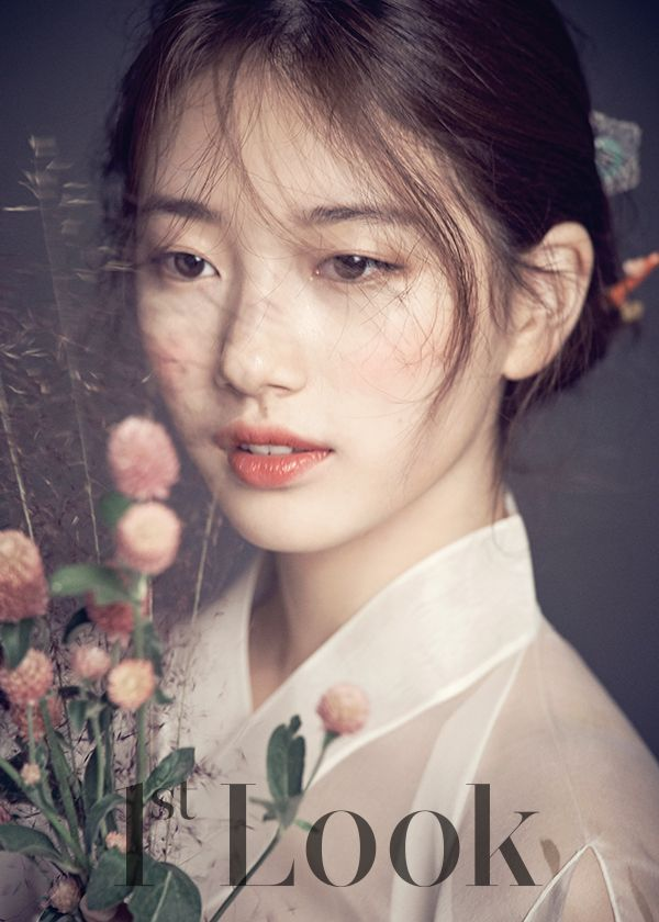 Miss A's Suzy is a Korean goddess in these 9 photos for 1st Look.  blushing bridal makeup
