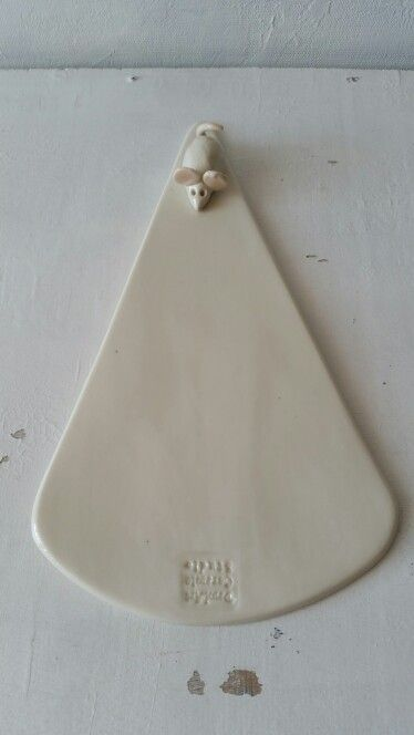 Mice porcelain. Cheese plate..handmade by Damlart Ceramic Studio..april 2015
