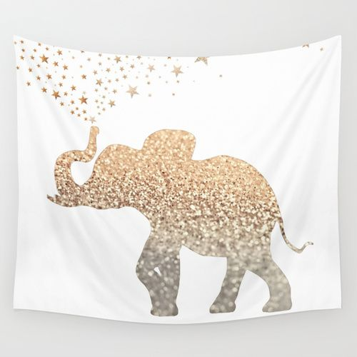 ELEPHANT Wall Tapestry http://society6.com/product/gatsby-elephant_tapestry?curator=soloshift