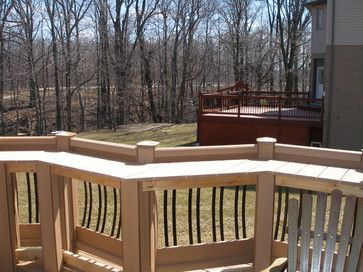 Deck Rail Bar Design Ideas, Pictures, Remodel, and Decor