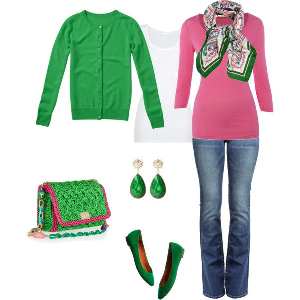 """""""Spring Green"""" by beverly-keith-simpkins on Polyvore"""