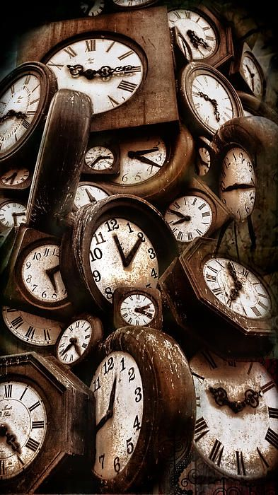 Clocks Fine Art Photography by Daliana Pacuraru
