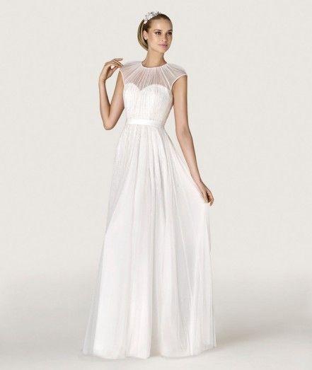 Прямое свадебное платье Antonella P