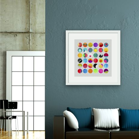 """Dots"", Numbered Edition Fine Art Print by Elisabeth Fredriksson - From $25.00 - Curioos"