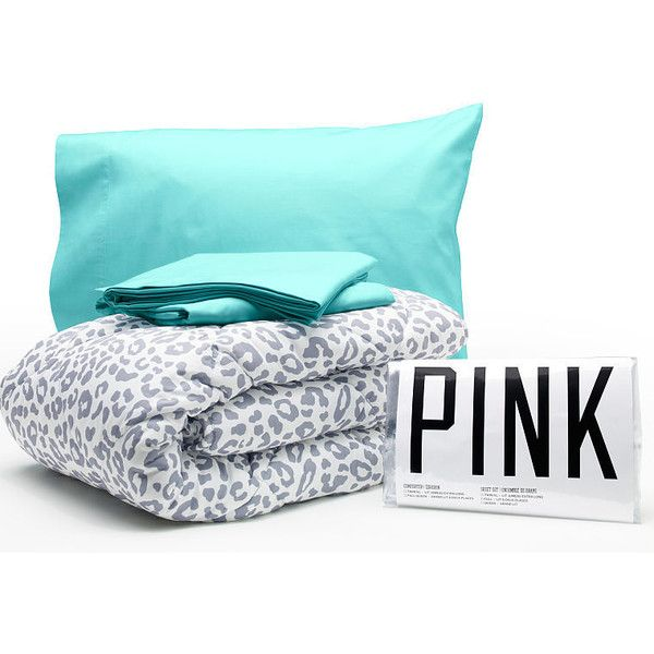 Victoria's Secret PINK Bed in a Bag (£48) ❤ liked on Polyvore featuring home, bed & bath, bedding, accessories, house, fillers, pillows, queen bed in a bag, twin bed in a bag and twin xl bedding