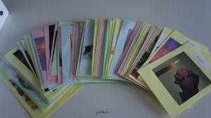 gebedskaartjes (foto's)