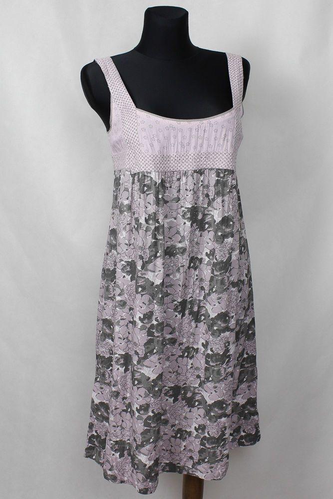 S Kleid Abito Robe Noa Klänning Dress Kjole Gr Blumen Sommer 1a4E7x8