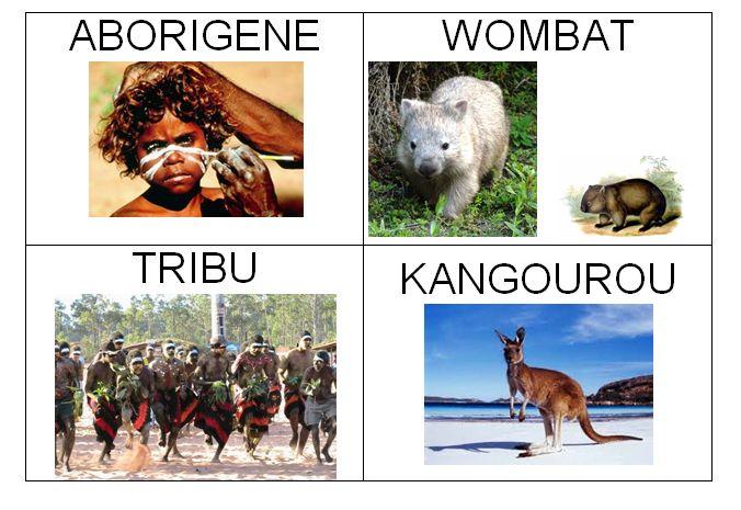 1imagier d'australie
