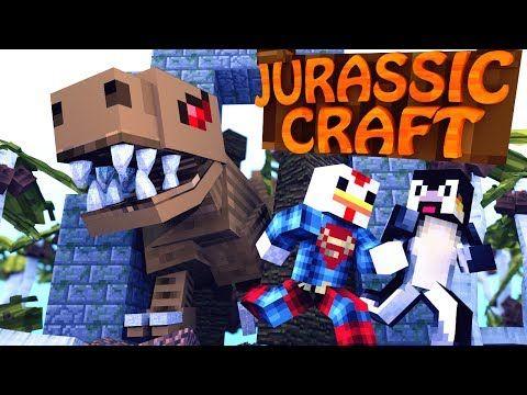 "Minecraft | Jurassic Craft - Dinosaurs Ep 1 ""SAVING JURASSIC PARK"" - YouTube"
