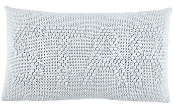 Garn organic cotton lys grå - Stof & Stil