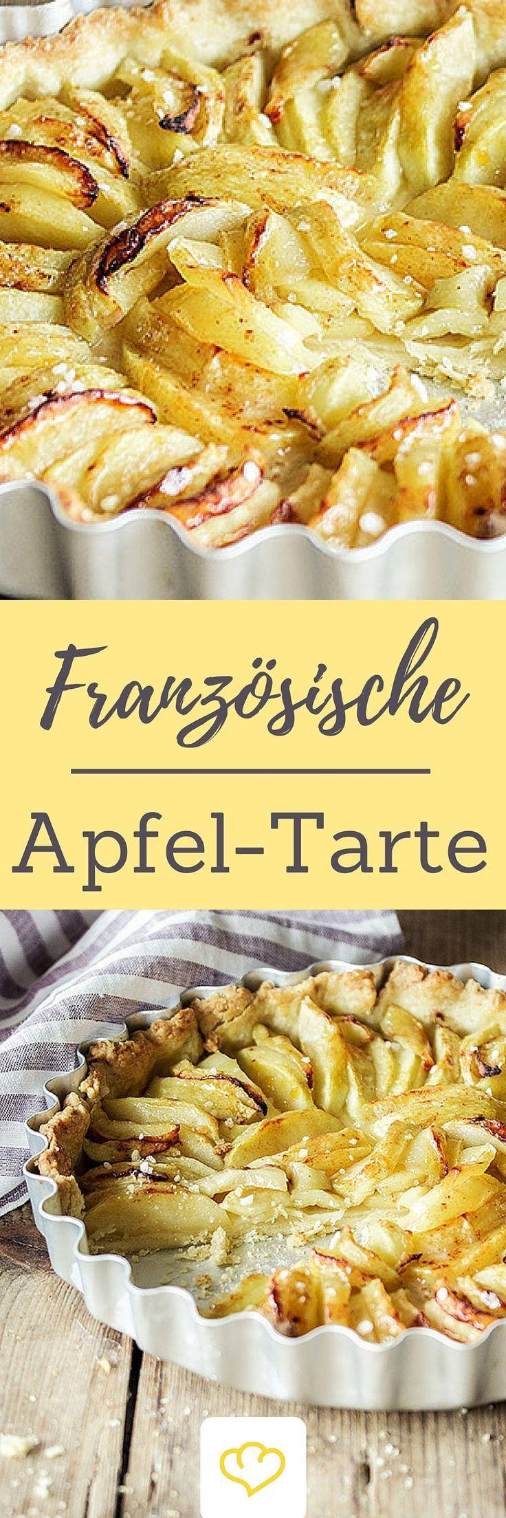 Gebackene Äpfel und dazu ein feiner Hauch Zimt - so schmeckt's im Herbst am besten. Unsere Apfel-Tarte ist die perfekte Nascherei für gemütliche Nachmittage.