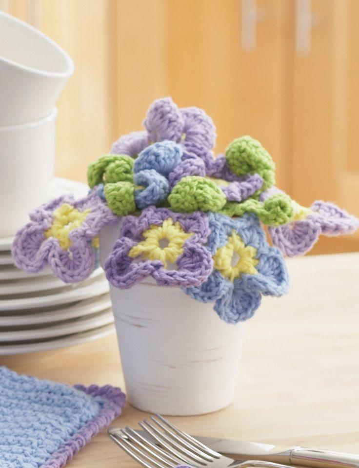 402 besten Häkelblumen, Aplikationen Bilder auf Pinterest ...