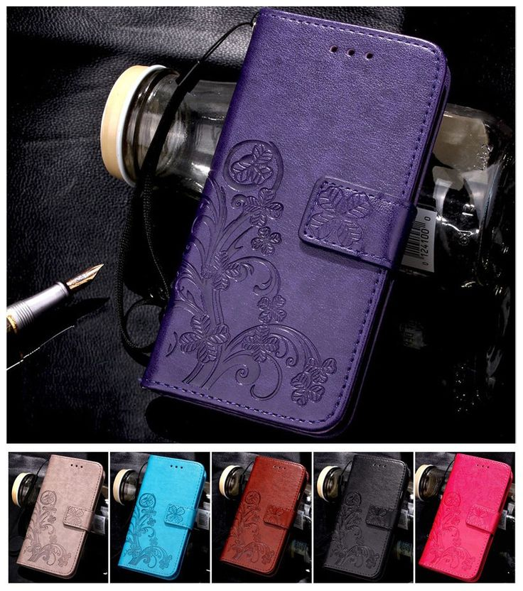Lucky Knurling Clovers PU Leather Cases For Apple iphone 4 4S 5 5S 6 6S 7 7 plus ipod touch 5 6 Back Cover + Card Wallet Holder