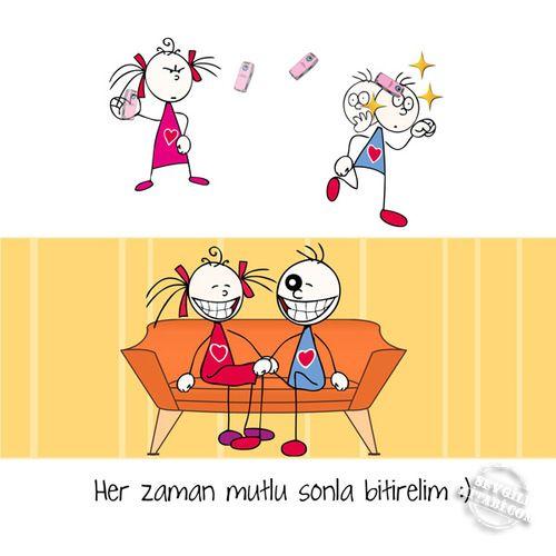 Yeni yılda her gün mutlu sonla bitsin! :)) #farklı #eğlenceli #değişik #hediye #özel #kitap