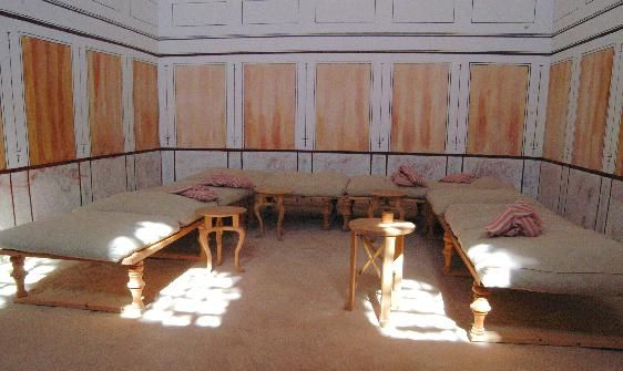 roman dining room | triclinium pic from www.novaroma.org | Sacred Spaces ...