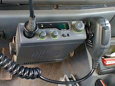 """1980s CB Radios were allowed for use in automobiles. My handle back in the 70s was """"Bookworm""""."""