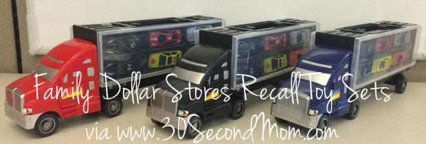 30 Second Mom - Donna John: Family Dollar Stores Recall Tough Treadz Auto Carrier Toys