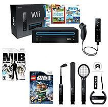 Wii System with MIB:Alien Crisis, Lego Star Wars 3:Clone Wars, 6 in 1 Sports Kit and Bonus Games
