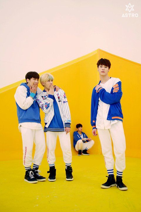 [10.03.16] Astro official Fancafe - Behind 1st Mini Album Music Video Shooting
