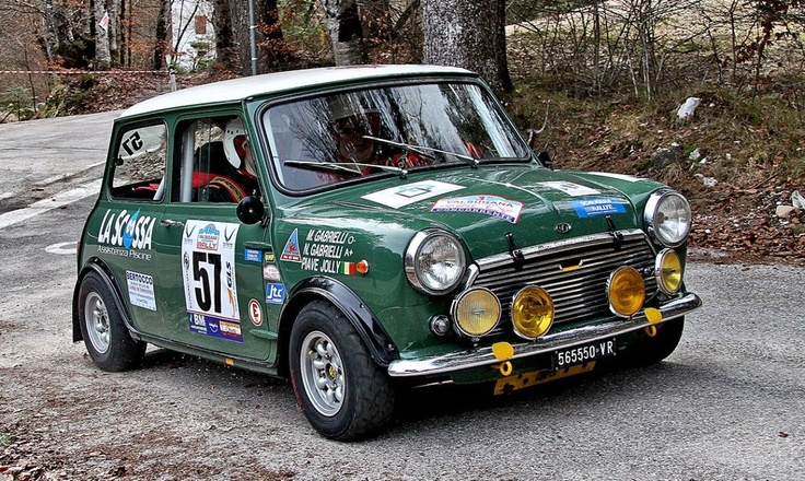Innocenti Mini Cooper Mk Ii Rally Historic Valsugana