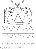 pre-printing practice worksheet