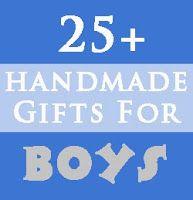 Handmade Christmas Gifts for Boys