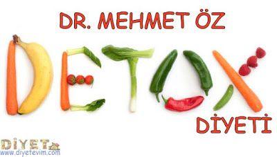doktor mehmet öz detoks diyeti